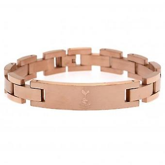 Tottenham Hotspur FC Unisex Adults Rose Gold Plated Bracelet