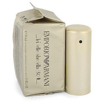 Emporio Armani Eau De Parfum Spray Por Giorgio Armani 1 oz Eau De Parfum Spray