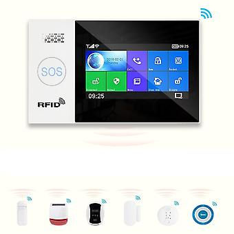 Wifi Gsm Home Security Protection Smart Alarm System Kit