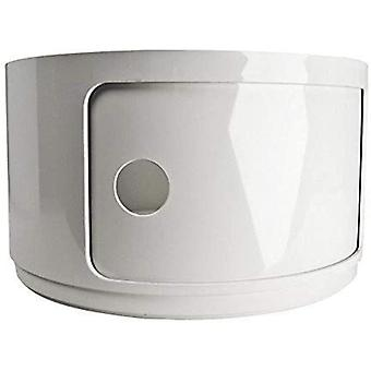 Kartell 495303 Baukastenelement Componibili rund Durchmesser 22 x 23,5 cm ABS,