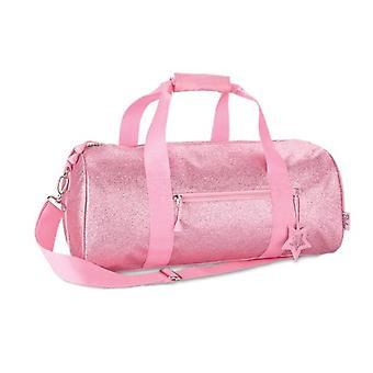 Duffle rosa brillante (grande)