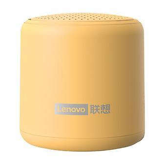 Langaton Lenovo L01 Mini -kaiutin - Langaton kaiutin Bluetooth 5.0 Soundbar Box Keltainen