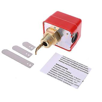 Hfs-20/15/25 r3/4 liquid water oil sensor control automatic paddle flow switch 15a 250v ip54