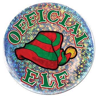 Offizieller Elf-Button (Packung mit 12)