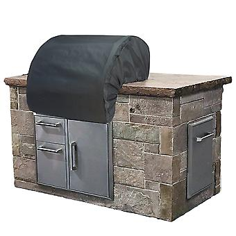 38 Build-In Grill Cover - Shield Gold /Color - Charcoal Grey