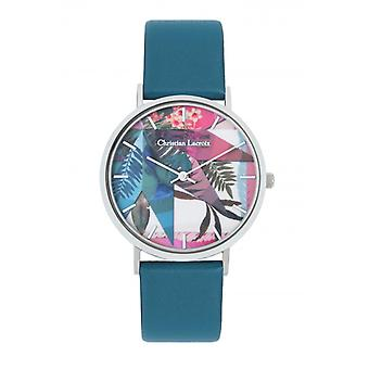 Christian Lacroix CLW303 Women's Watch - Couro Azul