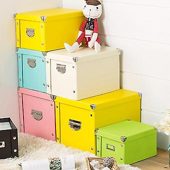 Decorative Cabinet Packing Box With Lid Toy Clothes Underwear Paper