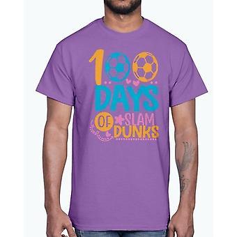 100 Tage Slam Dunks -Schule - Baumwolle tee