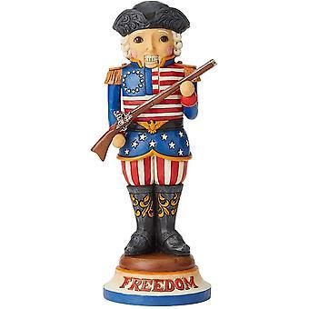 Jim Shore Heartwood Creek Amerikkalainen Pähkinänsärkijä Figurine