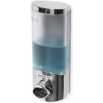 dispensador de jabón Uno 360 ml de cromo