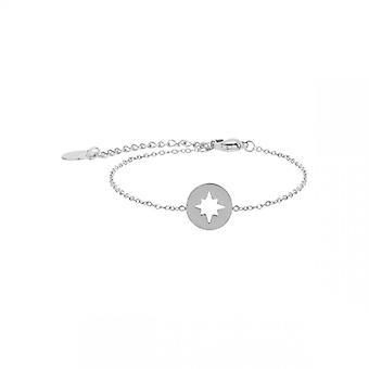 Bracelet Femme Clyda Bijoux BCLBR0005S - Acier Argent