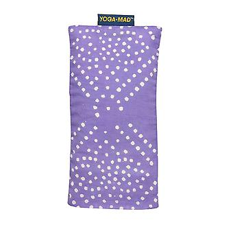 Fitness Mad Patterned Cotton Eye Pillow-Pastel Purple Diamond
