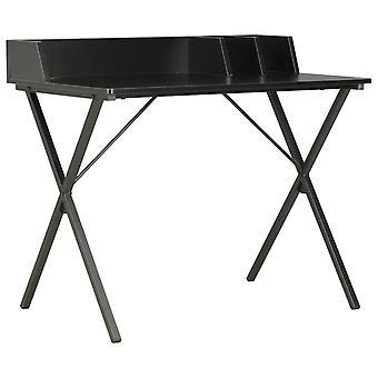 vidaXL Työpöytä Musta 80x50x84 cm