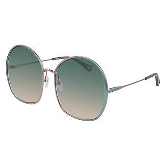 Chloe CH0014s 002 Blå / Grønn Gradient Solbriller
