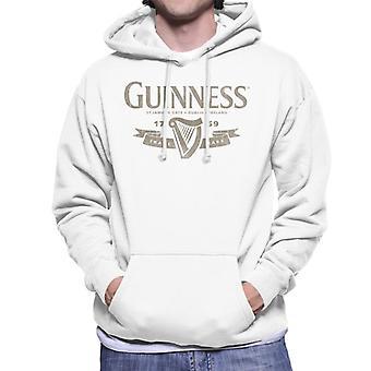 Guinness Banner Men's Hooded Sweatshirt