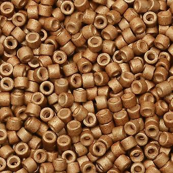 ميوكي ديليكا بذور الخرز، 11/0 الحجم، 7.2 غرام أنبوب، #1163 المجلفن ماتي ميد