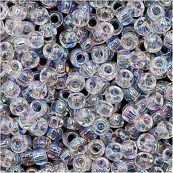 "Toho Runda Fröpärlor 8/0 161 ""Transparent Rainbow Crystal"" 8 Gram Tube"