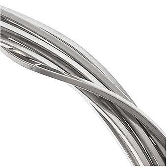 Sterling hopealanka 20 mittarin neliö puoliksi kova (5 jalkaa)