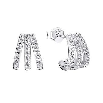 Amor - Kvinnors örhängen i silver 925, med zirkoner