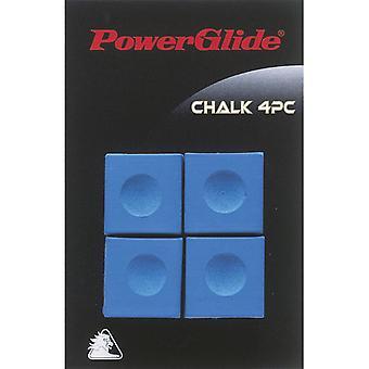 パワーグライド スヌーカー チョーク (4 パック) ブルー