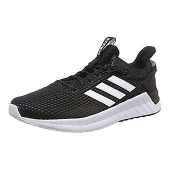 Hardloopschoenen voor kinderen Adidas LITE RACER CLN Zwart Wit