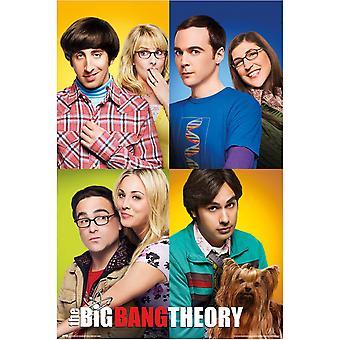 Il Big Bang Teoria Poster Gruppo 137