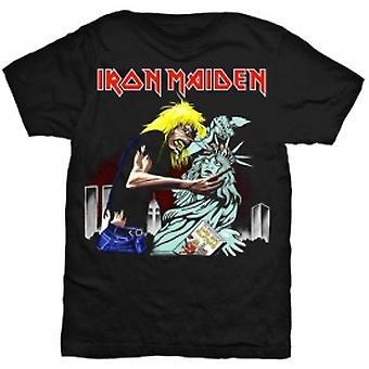 Iron Maiden New York Mens Svart T Skjorte: Stor