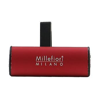 Millefiori Icon Classic Car Air Freshener - Vanilla & Wood 1pc