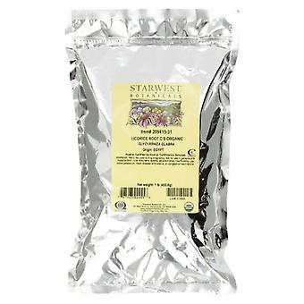 Starwest Botanicals Organic Licorice Root C/s, 1 Lb