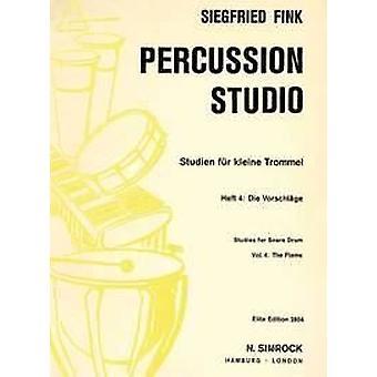 4 Die Vorschl?ge Fink, Siegfried Side/Snare drum