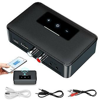 NFC Bluetooth 5.0 Transmitter Receiver Wireless 3.5mm AUX RCA Audio HiFi Adapter