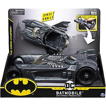Batman 2-1 Batmobile et Batboat Transforming Vehicle