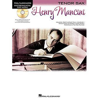 Henry Mancini (Henry Mancini) Saxofón Tenor, Libro con CD
