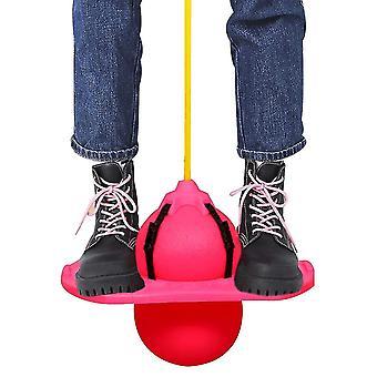 Pogo Ball Hopper, hyppää pomppiva pallo tila hopper tasapaino hyppy pallo liikunta (RosePink)
