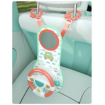 Homemiyn Car Seat Play Center Toy - Infant Car Seat Toys Steering Wheel For Car Seat Baby Stroller Toy Baby Travel Companion