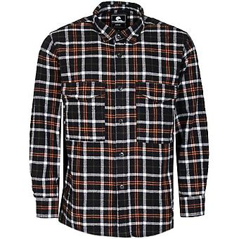 Edwin Heavy Flannel Brushed Check Overshirt