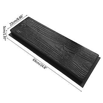 Imitation Holz Maserung DIY Weg Maker Pflaster zement Ziegel Form Stepping Pflaster Straße Beton Form