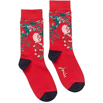 Joules Womens Brill Bamboo Mix Contrasting Single Socks
