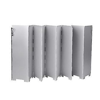 9/10 Plate Foldable Stove Wind Shield Gas Burner Windshield