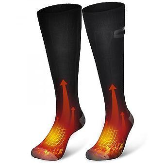 Zimní teplá venkovní tepelně elektrická topná ponožka