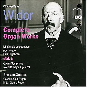 C.M. Widor - Widor: Complete Organ Works, Vol. 5 [CD] USA import