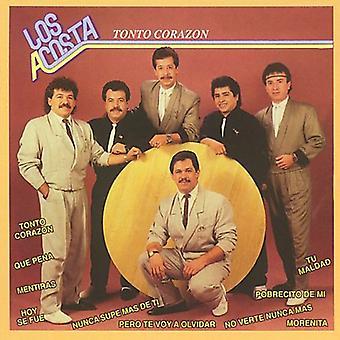 Los Acosta - Tonto Corazon [CD] USA import