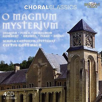 Schola Cantorum Stuttgart - chorales classiques: O Magnum Myseterium [CD] USA import