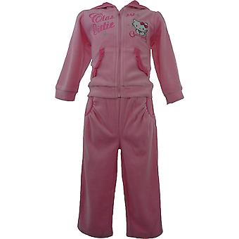 Girls Charmmy Kitty Hello Kitty Baby Velvet Knitted – Tracksuit