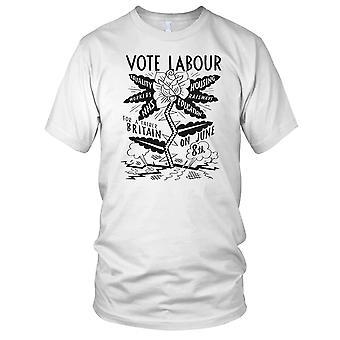 Stemme arbeidsmarked NHS damer T skjorte