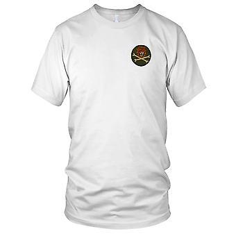MACV-SOG FOBMM - Monkey berg voorwaartse operationele basis - Vietnamoorlog geborduurd Patch - Mens T Shirt