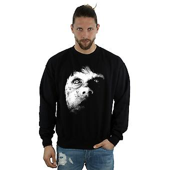 The Exorcist Men's Regan Demon Face Sweatshirt