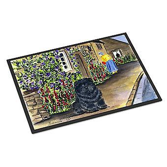 キャロラインズ宝物 SS8117MAT チャウチャウ屋内屋外マット 18 x 27 玄関マット