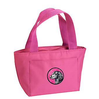 Pink Flat Coated Retriever  Lunch Bag or Doggie Bag LH9366PK