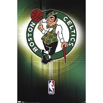 Celtics - Logo 10 Poster Print